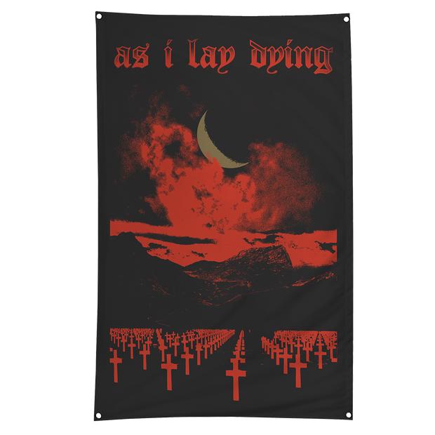Graveyard Wall Flag