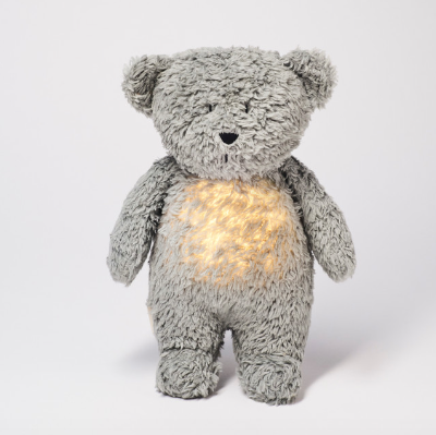 Moonie Organic Humming Bear in Mineral Grey (coming soon)