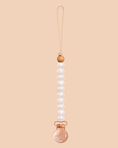 Pearl Sienna Dummy Clip in Rose Gold