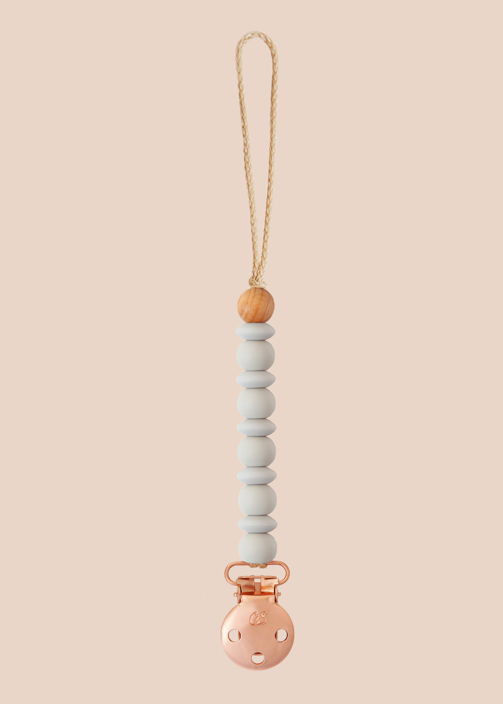 Luna Cloud Dummy Clip in Rose Gold
