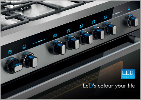 Armco gas cooker with Led panel light