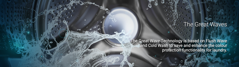 Toshiba great waves technology