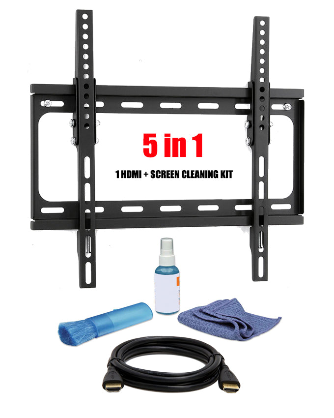 "ARMCO ABK-306 - LCD/LED Wall mount 5 in 1 Kit - FLAT 26-47"" with Tilt"
