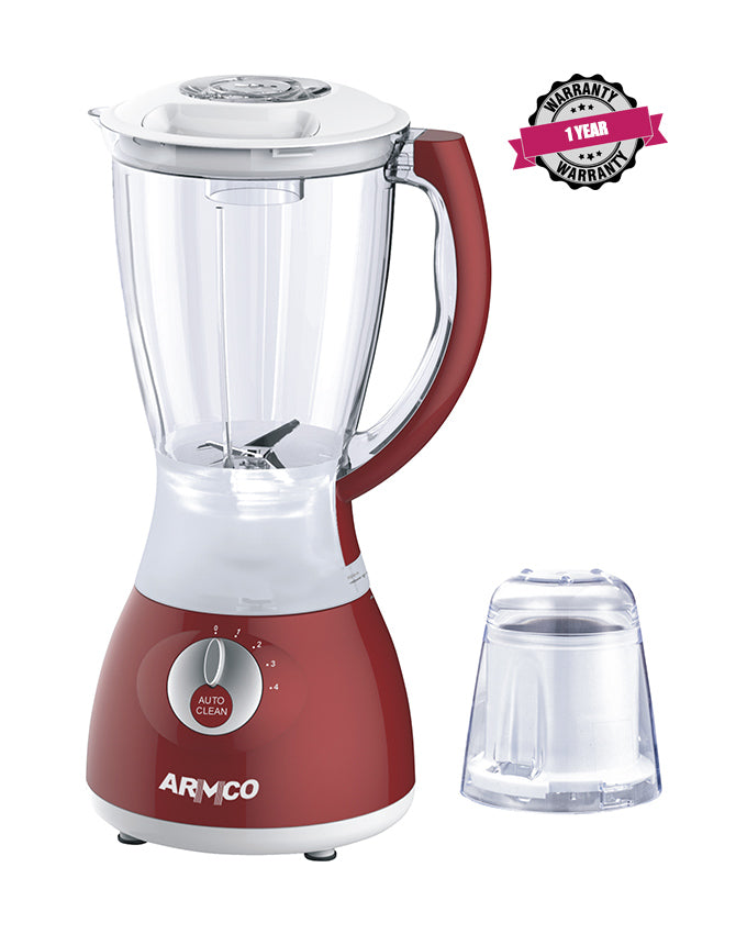 ARMCO Blender ABL-742RX in Kenya, 1.5L Blender, Stainless Steel Blades, Unbreakable PC Jar, Mill, Copper Motor, 400W