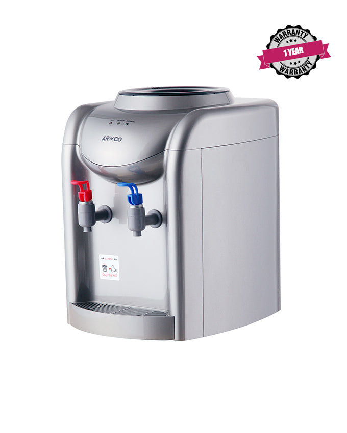 ARMCO AD-14THN(S) Water Dispenser, Hot & Normal, Silver.