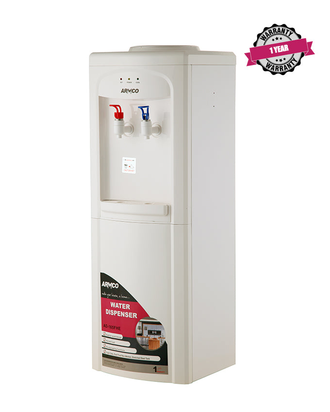ARMCO AD-165FHE(W) - 16L Water Dispenser, Hot & Electric Cool, White.