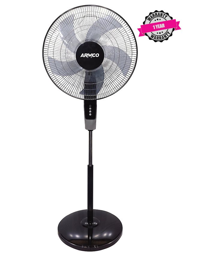 "ARMCO AFS-18BRC - 18"" Stand Fan with Remote Control"
