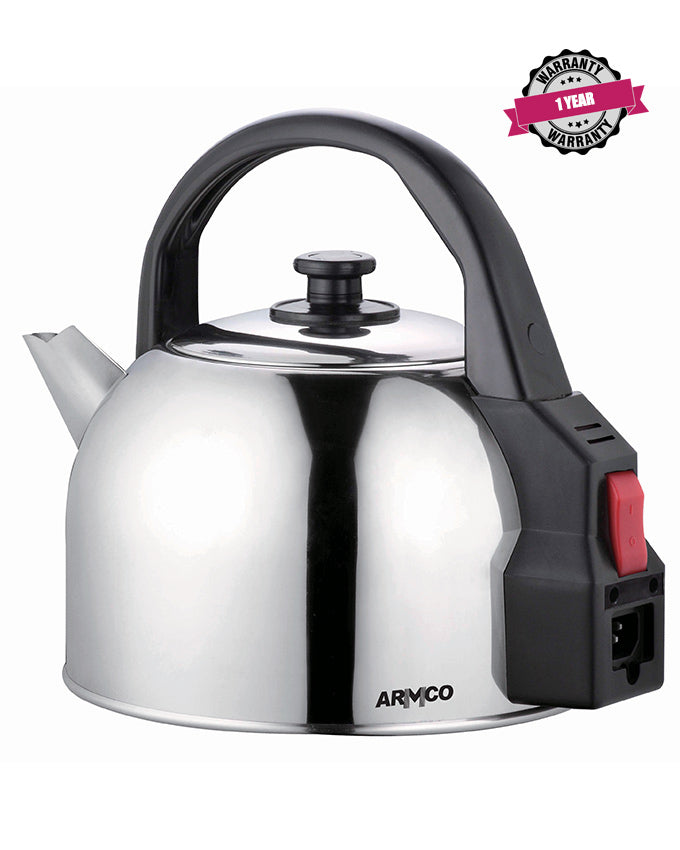 ARMCO AKT-431(SS) - 4.3L Traditional Stainless Steel Kettle, 2200W.