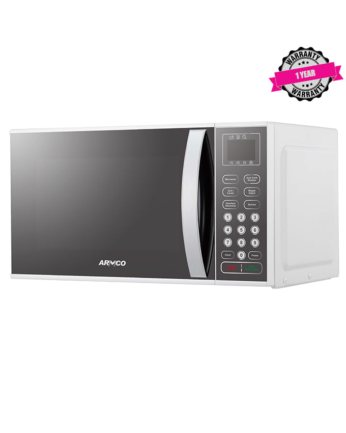 ARMCO AM-DG2343(AS) 23L Digital Microwave Oven, Silver/Steel.