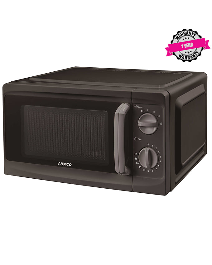 AM-MS2023(BK) 20L Microwave Oven - Black