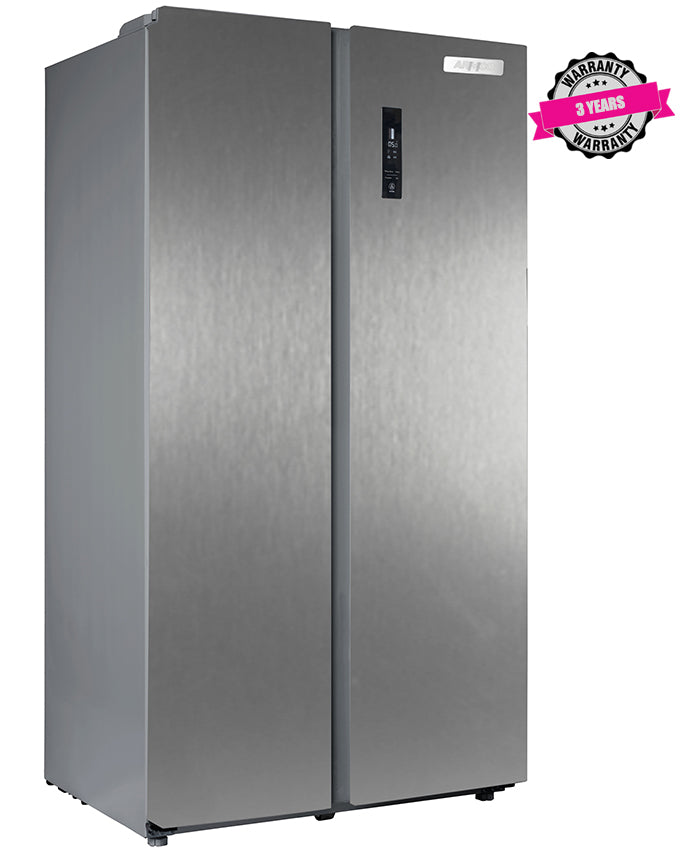 ARF-NF758-SBS(DS) - 562L Refrigerator, 2 door Side by Side - Dark Silver
