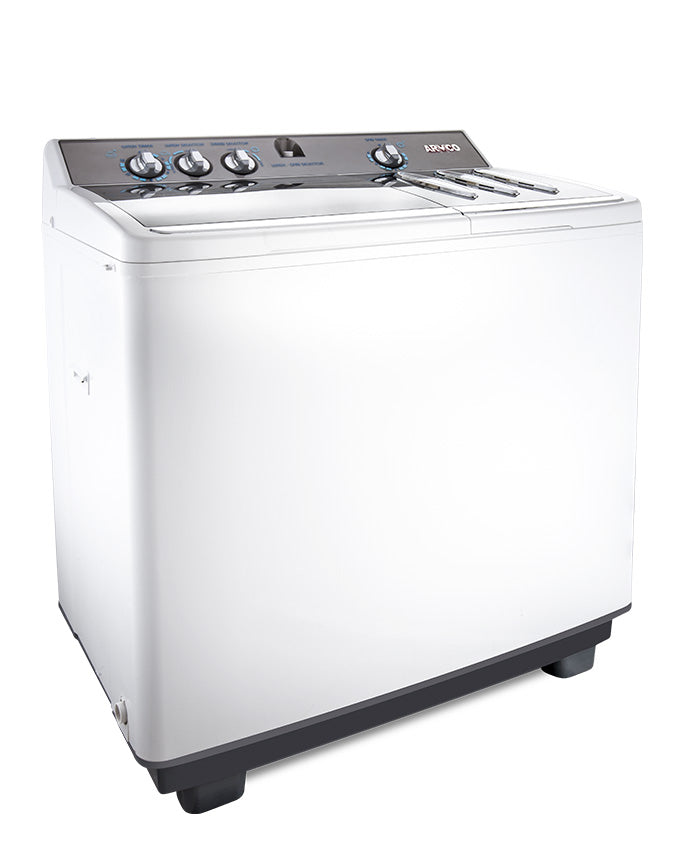ARMCO AWM-TT1305P - 13.0 Kg Twin Tub Washing Machine - White