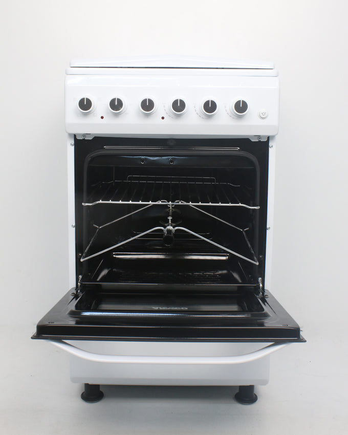 ARMCO GC-F5531PX(W) - 3 Gas, 1 Electric, 50x50 Gas Cooker, White.