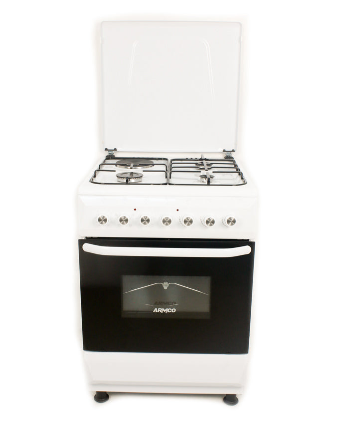 GC-F6631FX(WW) - 3Gas, 1Electric, 60x60 Gas Cooker - White