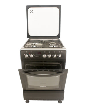 ARMCO GC-F6631HX2 - 3 Gas(1WOK), 1 Electric, 60x60 Gas Cooker.