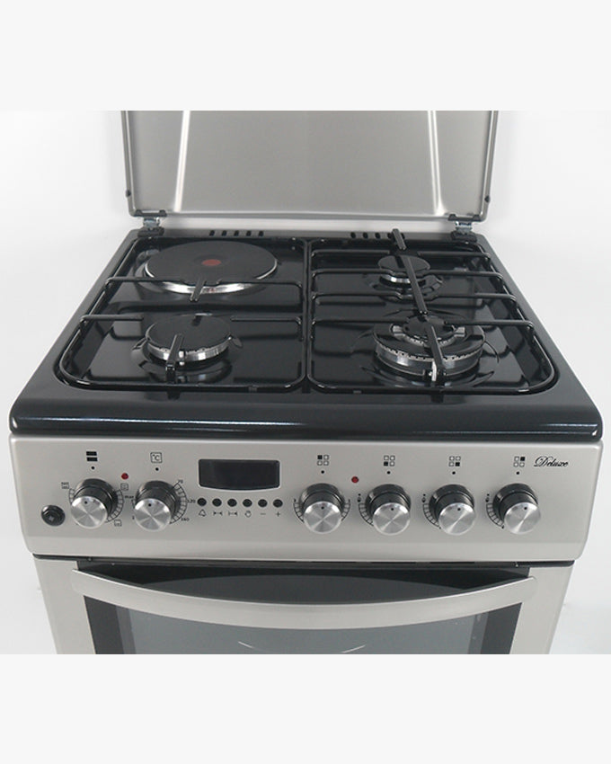 GC-F6631LX2(SL) - 3Gas, 1Electric, 60x60 Gas Cooker - Silver
