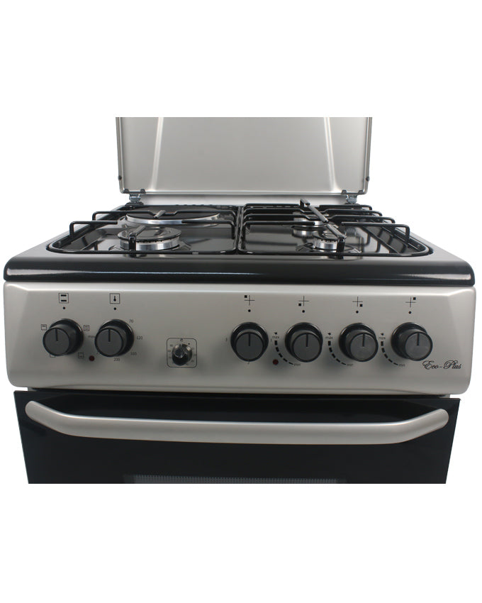 ARMCO GC-F6631PX(SL) - 3 Gas, 1 Electric, 60x60 Gas Cooker, Mechanical Timer, Silver