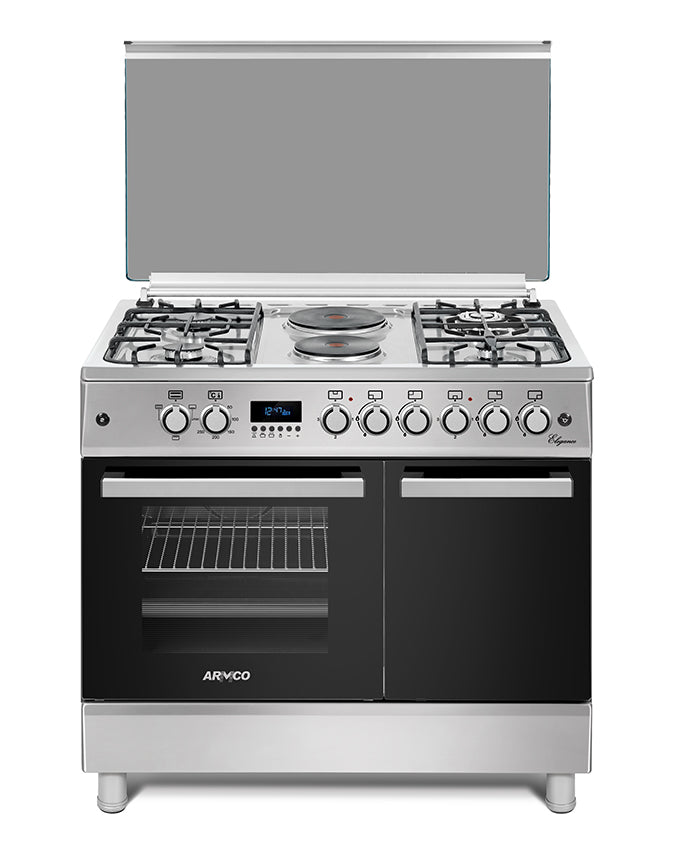 ARMCO GC-F9642ZBT(SS) - 4 Gas, 2 Electric, 60x90 Gas Cooker.