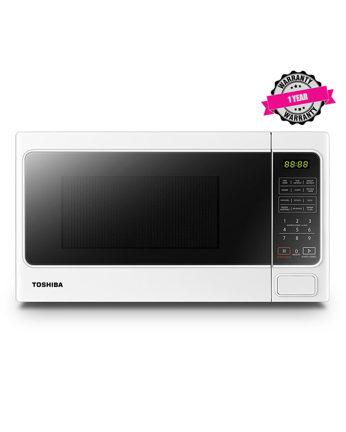 TOSHIBA MM-EM20P(WH) - 20L Digital Microwave Oven, 800W - White