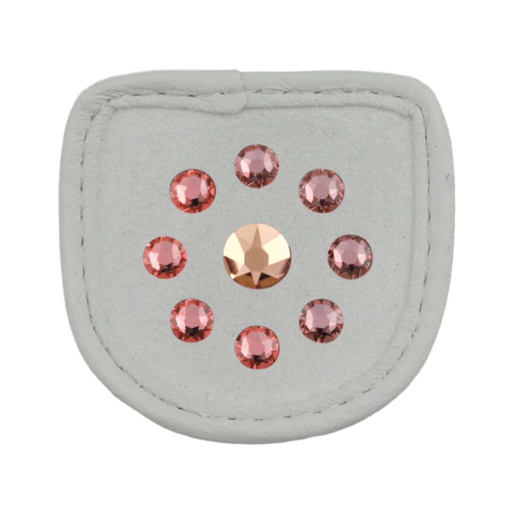 Metallic Rose Patch - MagicTack.com