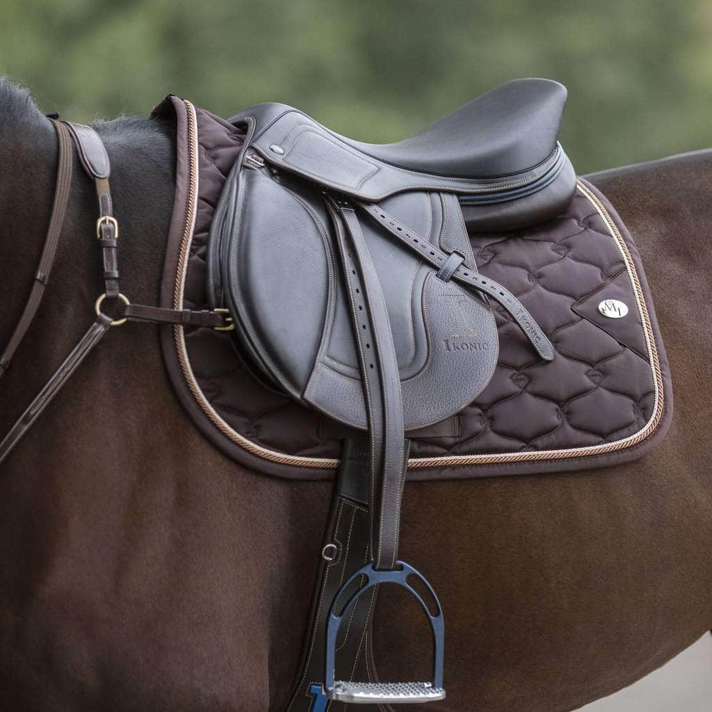 Saddle Pad Brown Flash - MagicTack.com