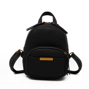 Leftside Women 2018 Cute Leather Backpack For Teenagers Children