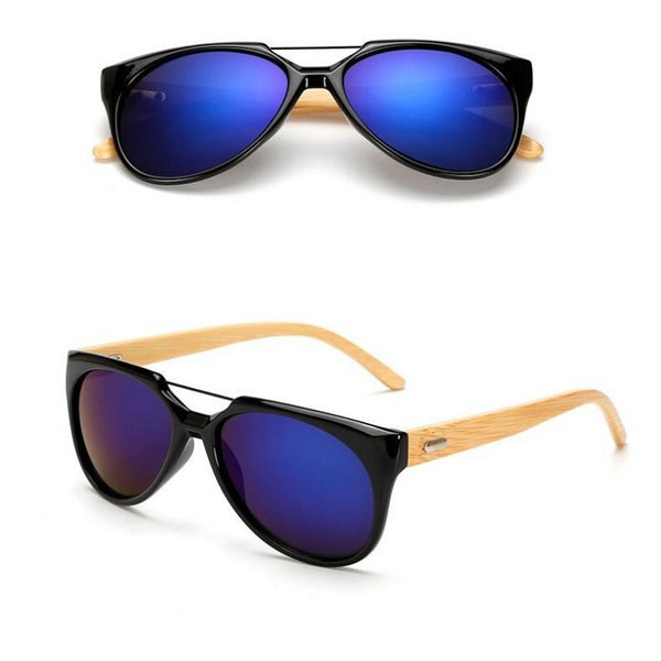 Classic Bamboo Sunglasses Men and Women