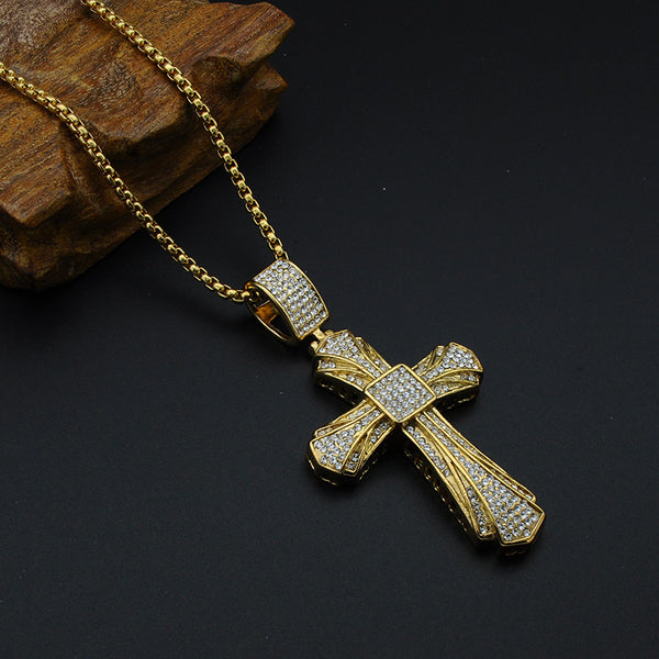JESUS Christ Cross Pendant Necklaces