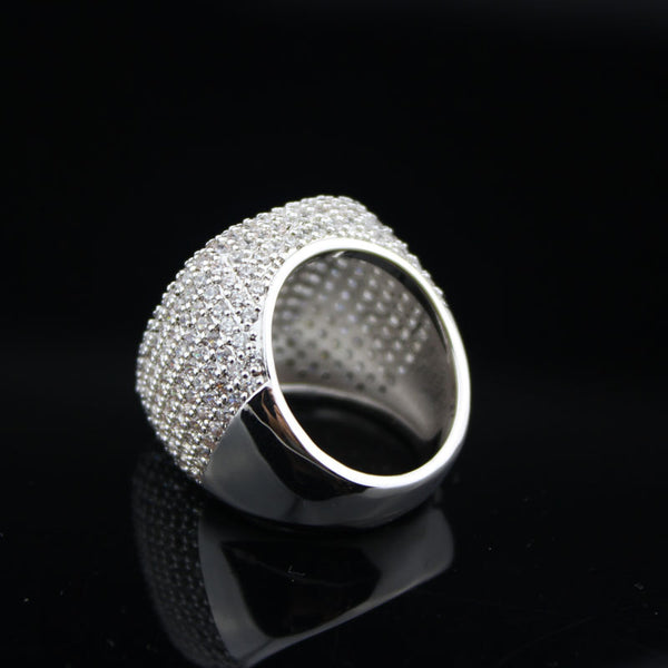 Elegant Silver Ring Very Shiny