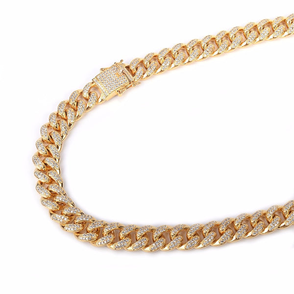 Classic Iced Out Link Chain For Mens