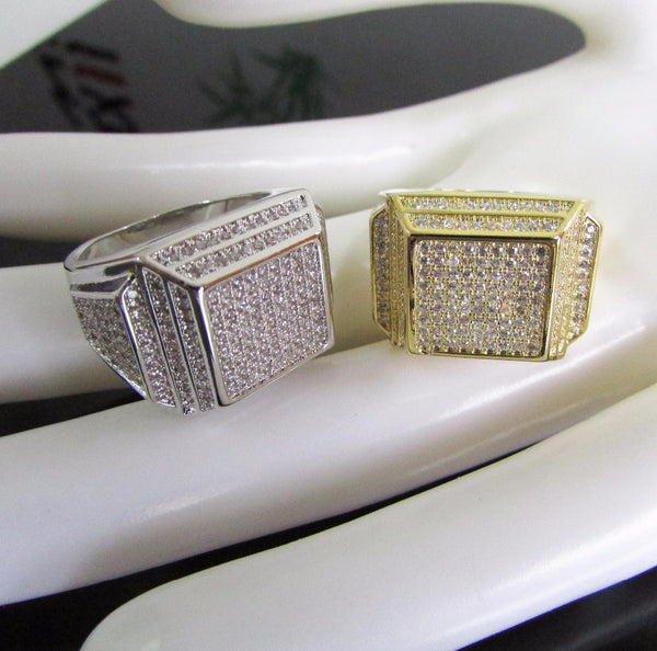 Iced Out Ring Perfect Shape