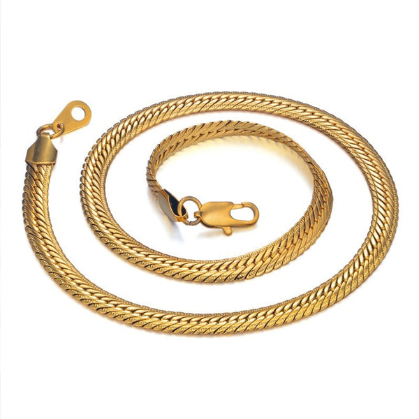 Hiphop Gold Chain 8MM