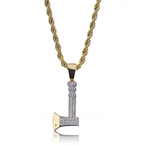 Axe Pendant Gold Chain Necklace New Arrival
