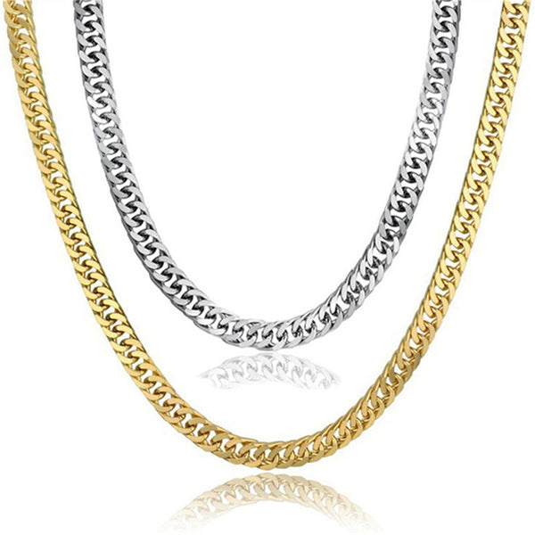 Vintage Long Chain Gold/Silver