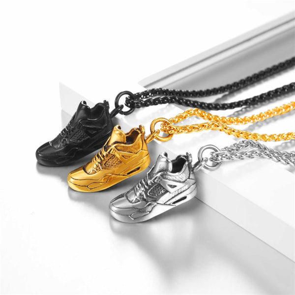 Sport Running Shoes Pendant Necklace