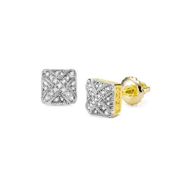 Earrings For Womens Cubic Zirconia Gold/Silver Color