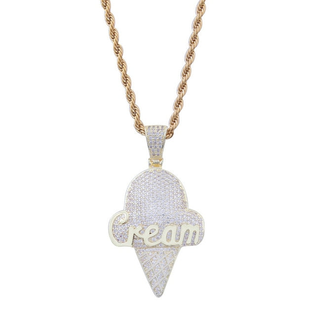 Ice Cream Pendant Necklace Nice Gift