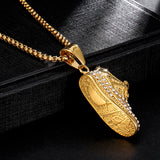 Hip Hop Bling Fashion Shoes Pendant