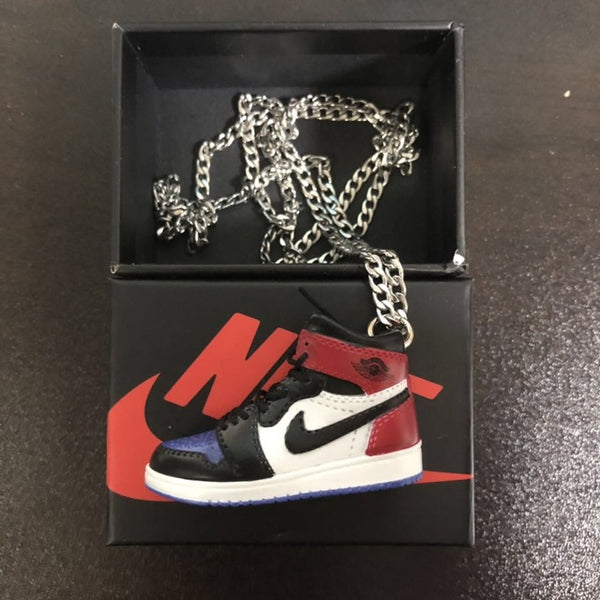 3D Sneaker Shoes Necklace