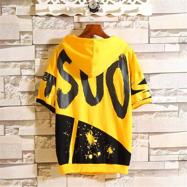 Summer New Fashion Short-sleeved Hoody