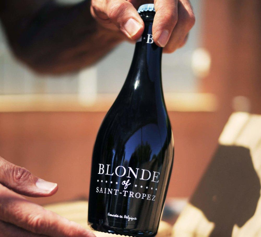 BLONDE OF SAINT-TROPEZ BOTTLE $14