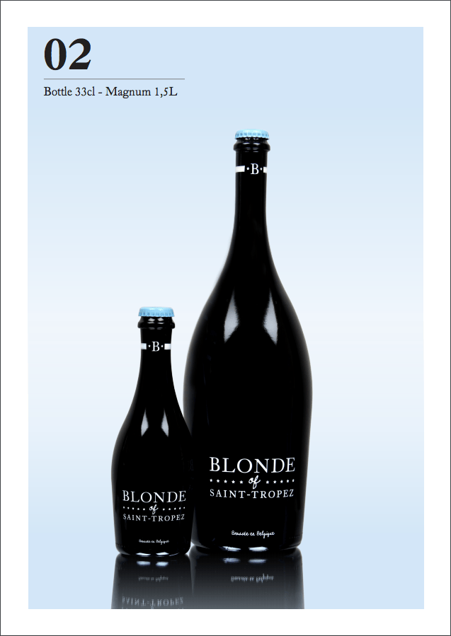 BLONDE OF SAINT-TROPEZ MAGNUM $60