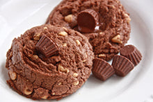 Load image into Gallery viewer, Baking class: Chocolate PB Chip Cookie AND Double Chocolate cookies (Jumbo, dairy-free and gluten-free options)