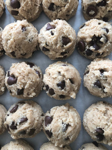 Chocolate Chip Toffee Cookie Dough - Medium Dozen