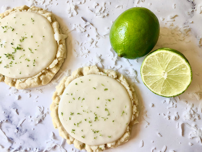 Lime In The Coconut Sugar Cookies