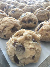Load image into Gallery viewer, Chocolate Chip Toffee Cookie Dough - Medium Dozen