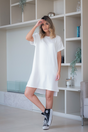 T-dress Tulum Off White