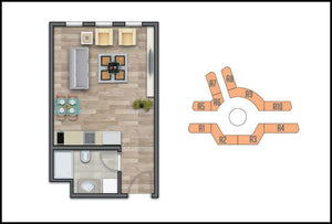 1+0 Efficiency Apartment in Meydan Ardicli Istanbul Project