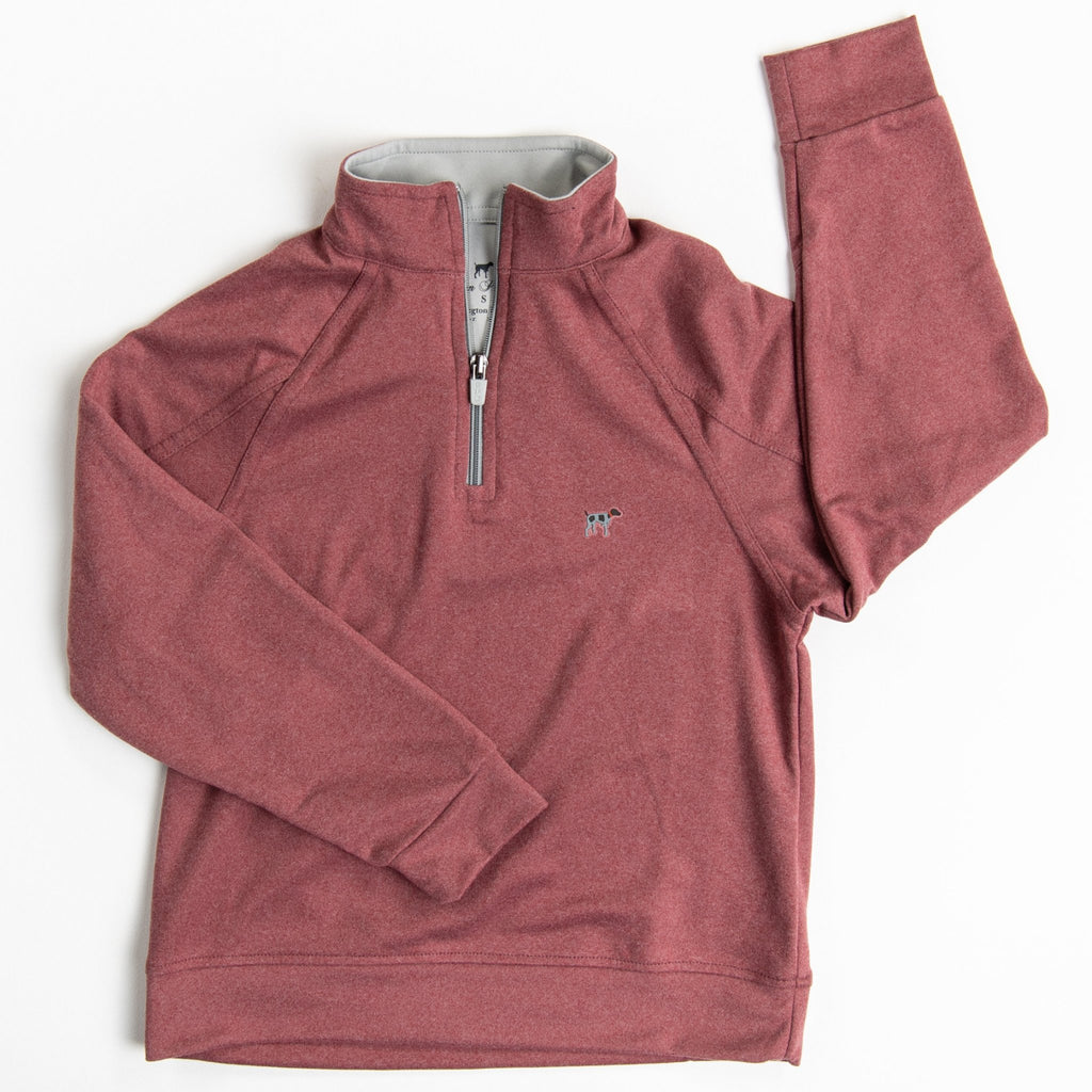 Crimson Wellington Pullover