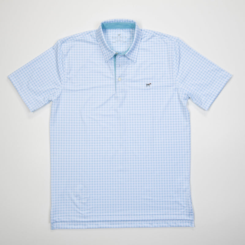 Performance Polo- Baby Blue